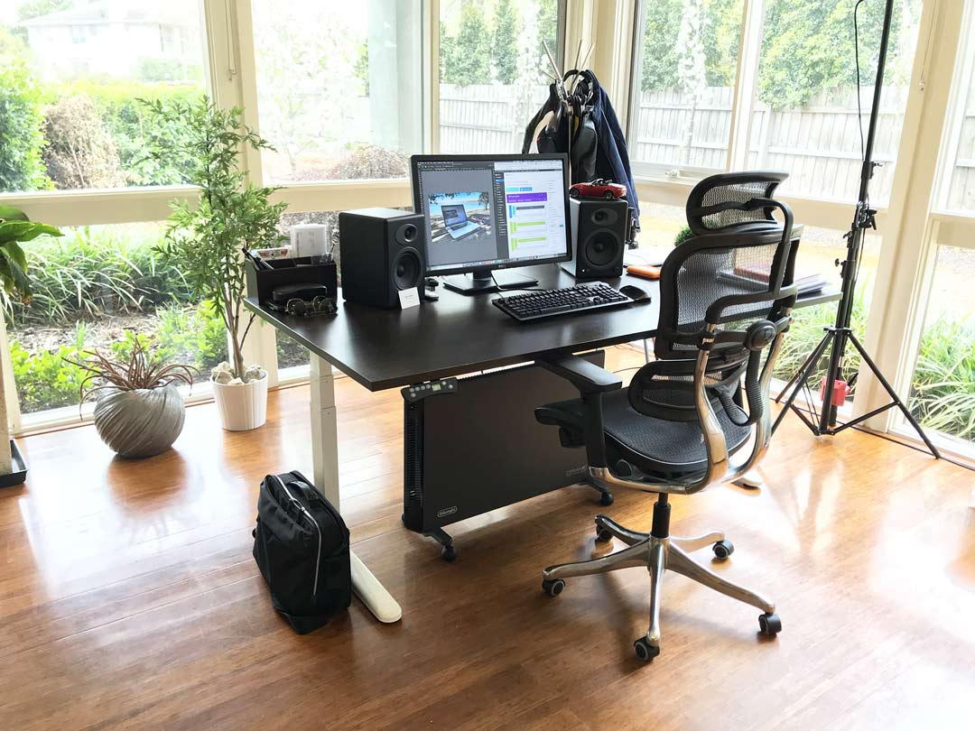 Working from home - my home office | OfficeAnywhere