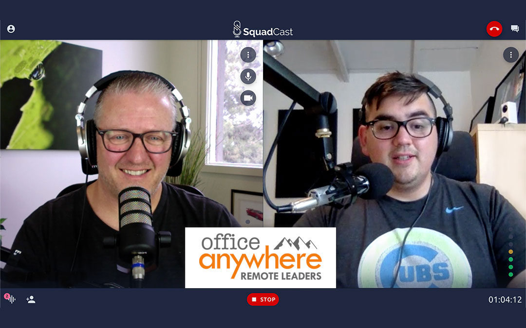 Starting a podcast with SquadCast CoFounder, Zach Moreno | Office Anywhere